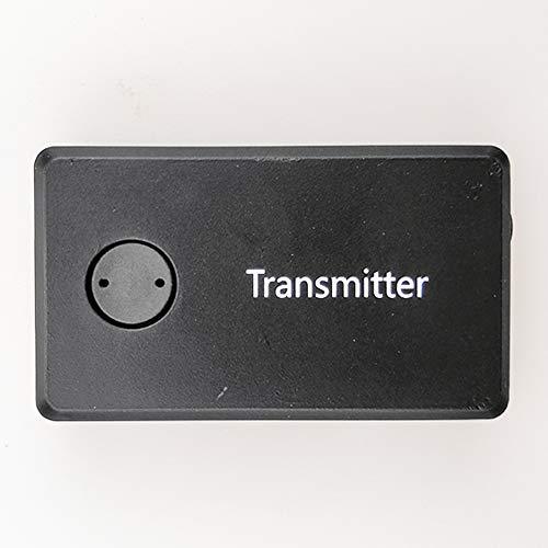Mioloe Adattatore Bluetooth per dispositivi audio da 3,5 mm Trasmettitore Bluetooth stereo portatile con musica stereo