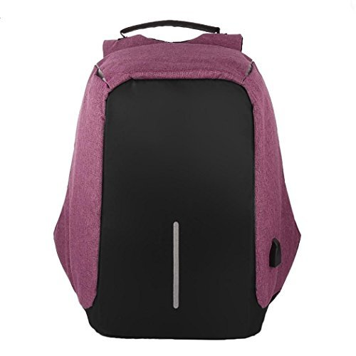 Business Casual Backpack Outdoor Laptop Multifunction Travel Charge Security Bag