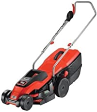 Black+Decker 1400W Edge-Max Lawn Mower with 34 cm Cut/40 L Box