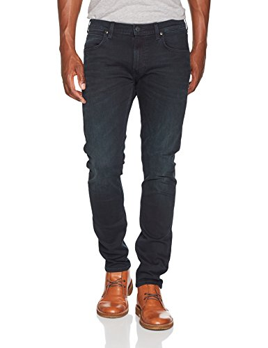 Lee Herren Tapered Fit Jeans Luke, Blau (Blueblack Night Jjhs), W31/L32 (Luke Jeans)