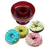EVRYLON Stampo Donut Cutter per Tagliare e Fare Forme Dolci graffe Ciambelle Stampino da Forno Diametro 8 cm