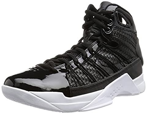 Nike Herren Hyperdunk Lux Basketballschuhe, Black (Black (Schwarz / Schwarz-Metallic Gold-Segel)), 47