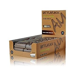 AMSPORT - Oat Flapjack Natural Energy - Vanilla Dark Chocolate - 15 x Kohlenhydratriegel á 50g - Box