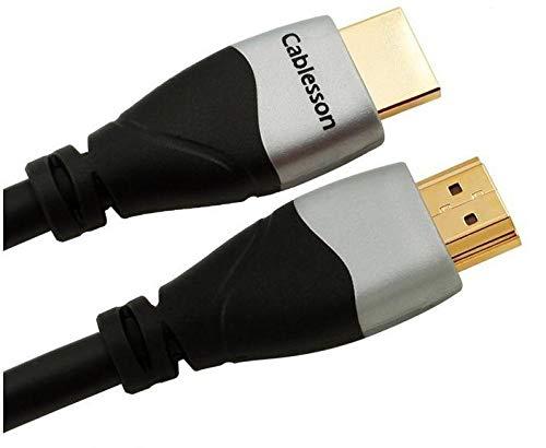 Câble Ivuna 1.5m (1.5 mètre(s)) HDMI vers HDMI avec Ethernet (version 1.4a / 2.0) 1080p FULL HD TVs LCD PLASMA et LED, supporte aussi le 3D pour la Xbox One, Xbox 360, PS3/4 de Sony, les boîtes TV HD Canalsat; beIn, Orange TV, Freebox, SFR Box TV et Bbox, DVD Blu-ray and Nintendo Wii U.