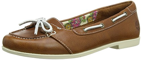 Timberland Cornish_Cornish Short Vamp- Lined, Damen Bootsschuhe, Braun (Buckthorne Brown Journeymen), 41 EU