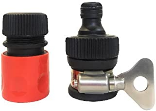 """Smartloop Universal Tap Connector & Quick Connector Combo Tap Adapter For Hose Pipe With Fastening Ring 1/2"""" - 13mm"""