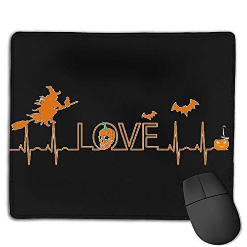 Halloween Nurse Heartbeat Locking Mouse Pad Anti-Slip Personality Gaming Rubber Mousepads