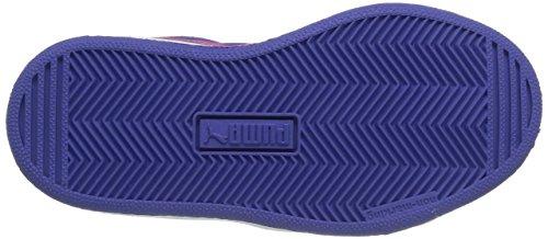 Puma Puma 48 Mid Unisex-Kinder Hohe Sneakers Blau (blue iris-fuchsia purple 03)
