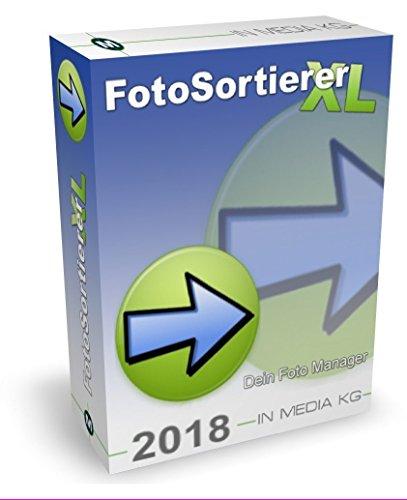 FotoSortierer XL (2018er Version) Fotoverwaltung und Foto Manager zum Fotos sortieren, Fotos umbenennen, doppelte Bilder finden und doppelte Fotos löschen. Bilder sortieren war noch nie so einfach.