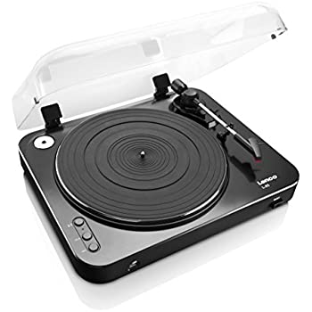 Lenco L-85 Turntable with USB Direct Recording - Black