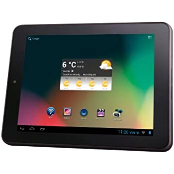 Intenso TAB814 5510862 20,3 cm (8 Zoll) Tablet-PC (ARM Cortex A9, 1,5GHz Dual Core, 1GB RAM, 8GB HDD, HDMI, Wifi, WLAN, micro SD, micro USB, Android 4.1) schwarz