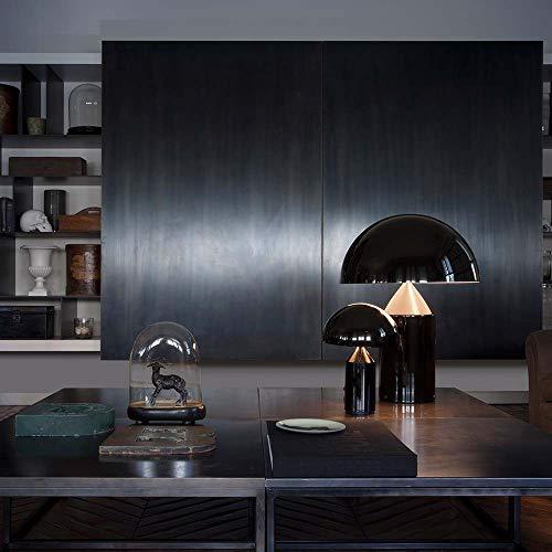 Oluce Atollo 70 - Lámpara de mesa, color negro