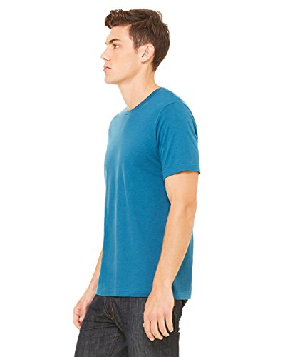 Glorious Return Bella Canvas Unisex Jersey Short Sleeve Tee HEATHR DEEP TEAL