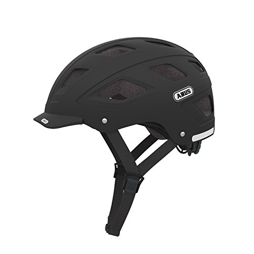 Abus 372650 - Casco,  color negro, talla L