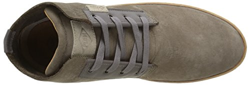PLDM by Palladium Fitz Nub, Baskets Hautes Homme Gris (434 Dark Grey)