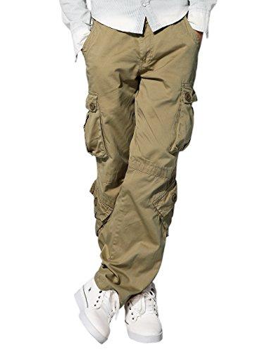 match-mens-retro-casual-cargo-trousers-3357light-khaki29