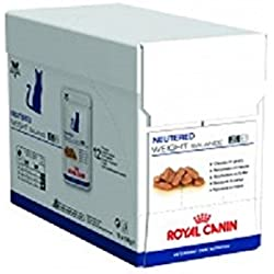 Royal Canin Neutered Weight Balance Nourriture pour Chat carton 12 sachets x100g