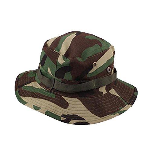 Surker Unisexe camouflage Chapeaux ext¨¦rieur Essentiels Profonde camouflage forestier