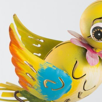 Gartenstecker - Gartenpendel Funny Swingbirds
