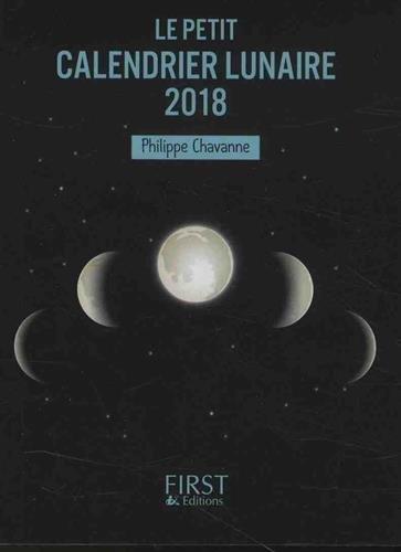 Petit livre - Calendrier lunaire 2018