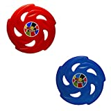 Sunny Blue and Red Flying Disc