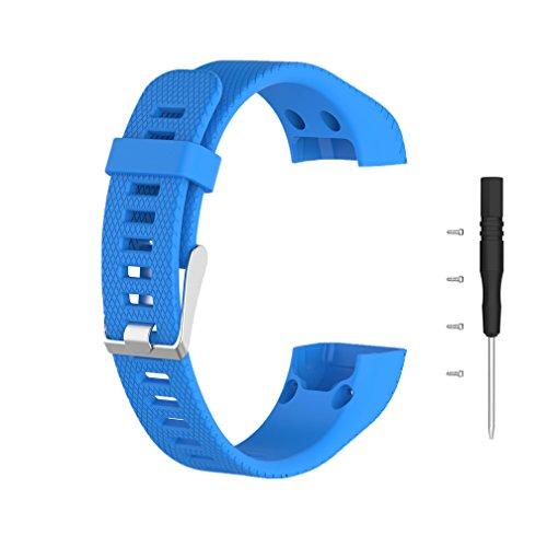 Bracelet de Remplacement pour Garmin Vivosmart HR+, Meiruo Bracelet pour Garmin Vivosmart HR PLUS (Colour 1)