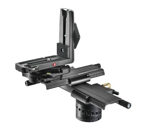 """Manfrotto MH057A5-LONG - Rótula para trípode 1/4-20"""" (Con dispositivo de cambio rápido), negro"""