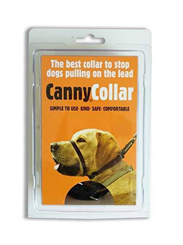 Canny Collar, Collar Antitirones, Talla 2, Negro