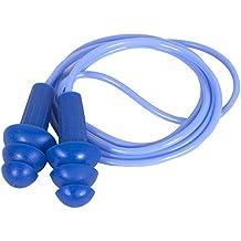 Kimberly Clark 13822 Jackson Safety H20 - Tapones reutilizables para los oídos con detector de metales