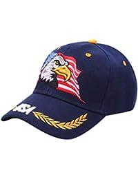 Cebbay Gorras Beisbol Casuales Sombreros Hip Hop Gorras de béisbol para Unisex Hombre Mujer Bandera Americana