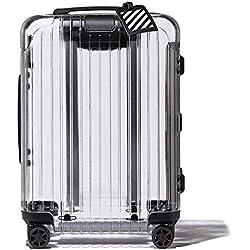 rimowa off white valise transparente virgil abloh, Rimowa x Off-White, la Valise Transparente que vous Attendez