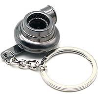 Ecovers Persönlichkeits-Turbolader Geformter Ringschlüsselauto-Ring Keychain praktischer tragbarer Schlüsselkette