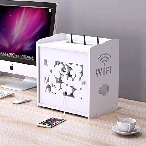 Estantería WiFi Cajas De Almacenaje Decorativo