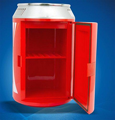 XW 4L Auto Tragbaren Mini Kleinen Kühlschrank , Red,red