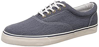 Marks & Spencer Men's Chambray Sneakers - 8 UK/India (42 EU)(2405)
