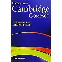 Diccionario Bilingue Cambridge Spanish-English Paperback Compact edition