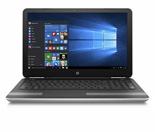 HP Pavilion 15-au620TX 15.6-inch Laptop (Core i5-7200U/8GB/1TB/Windows 10 Home with MS Office/2GB Graphics), Natural Silver 41L DPJrAfL