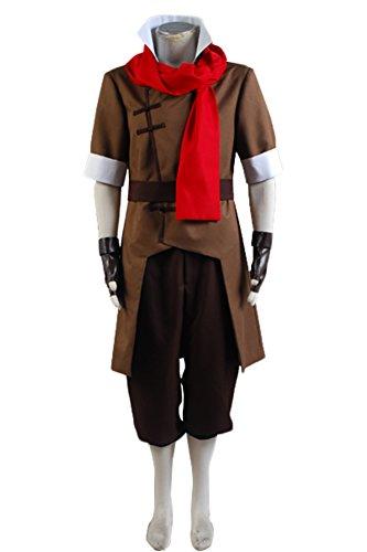 Fuman Avatar The Legend of Korra Mako Cosplay Kostüm (Korra Mako Kostüm)