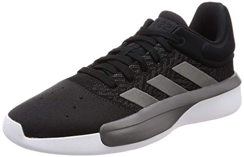 adidas Herren Pro Adversary Low 2019 Basketballschuhe Schwarz (Core Black/Grey Four F17/Ftwr White), 45 EU -