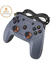 Amkette Evo Elite Wired PC Gamepad With Dual Vibration for PC/PS3/Android (Grey)