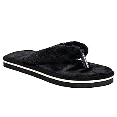 HD Ladies Cotton Fur Slipper With Chritmas & Winter Special