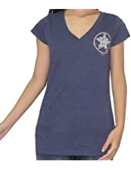 MLB Houston Astros femmes Rhinestones T-Shirt(Vintage Look)