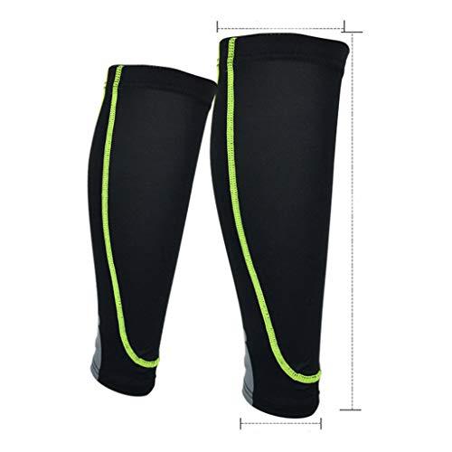 ZZBO Sports Beinkompressionsstrümpfe für Schienbeinschienen, Wadenschmerzlinderung - Beinkompressionsstrümpfe Wadenschoner für Laufen, Radfahren, Basketball -