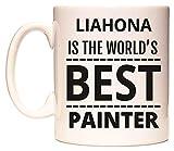 LIAHONA IS THE WORLD'S BEST PAINTER Tasse de WeDoMugs