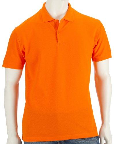 Fruit of the Loom Piqué Poloshirt aus Mischgewebe 63-402-0 Orange