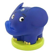 ANSMANN Sternenlicht Elefant LED zauberhafter Sternenhimmel-Projektor Nachtlicht Lampe Einschlafhilfe für Baby/Kinder/Erwachsene - superschönes Geschenk (Sendung mit der Maus) Note 1,3 Lampenlabor Test Q2,2017
