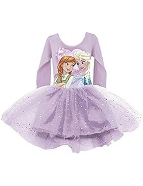 Disney Frozen Die Eiskönigin Kleid mit Glitzer