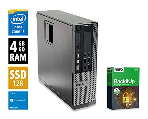 Dell Optiplex 7010 SFF | PC | Computer | Intel Core i3-3240 ,  3,4 GHz | 4GB DDR3 RAM | 128GB SSD | Windows 10 Home (Generalüberholt)