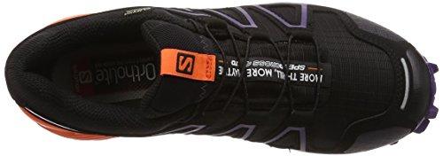 Salomon Damen Speedcross 4 GTX Trailrunning-Schuhe black-nasture