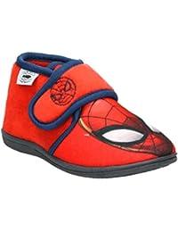 Cerdá Zapatillas de Casa Media Bota Spiderman, Niños